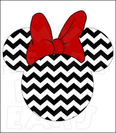 236x271 Minnie Mouse Chevron Instant Download Digital Clip Art Diy Iron