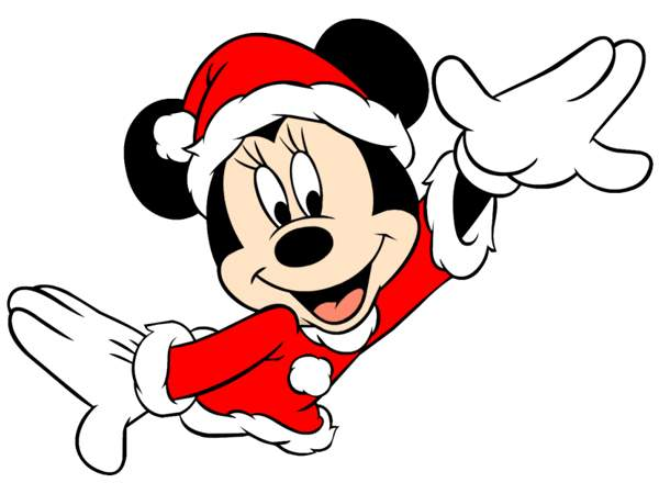 600x450 Christmas Clipart Minnie Mouse#3160075