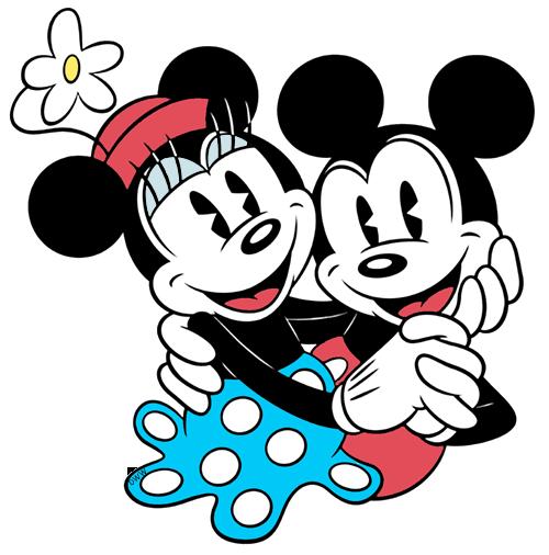 500x506 Classic Mickey Mouse and Friends Clip Art Disney Clip Art Galore