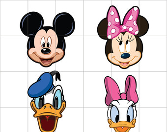 340x270 Mickey Mouse Party Digital Clipart Minnie Mouse Clubhouse