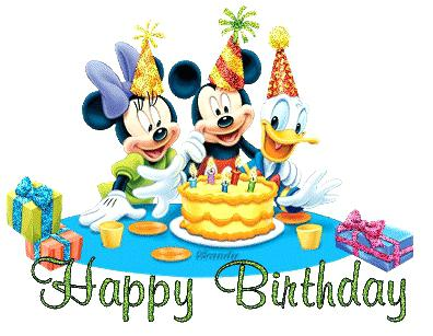 396x307 Disney Happy Birthday Clip Art Happy Birthday Mouse Happy Birthday