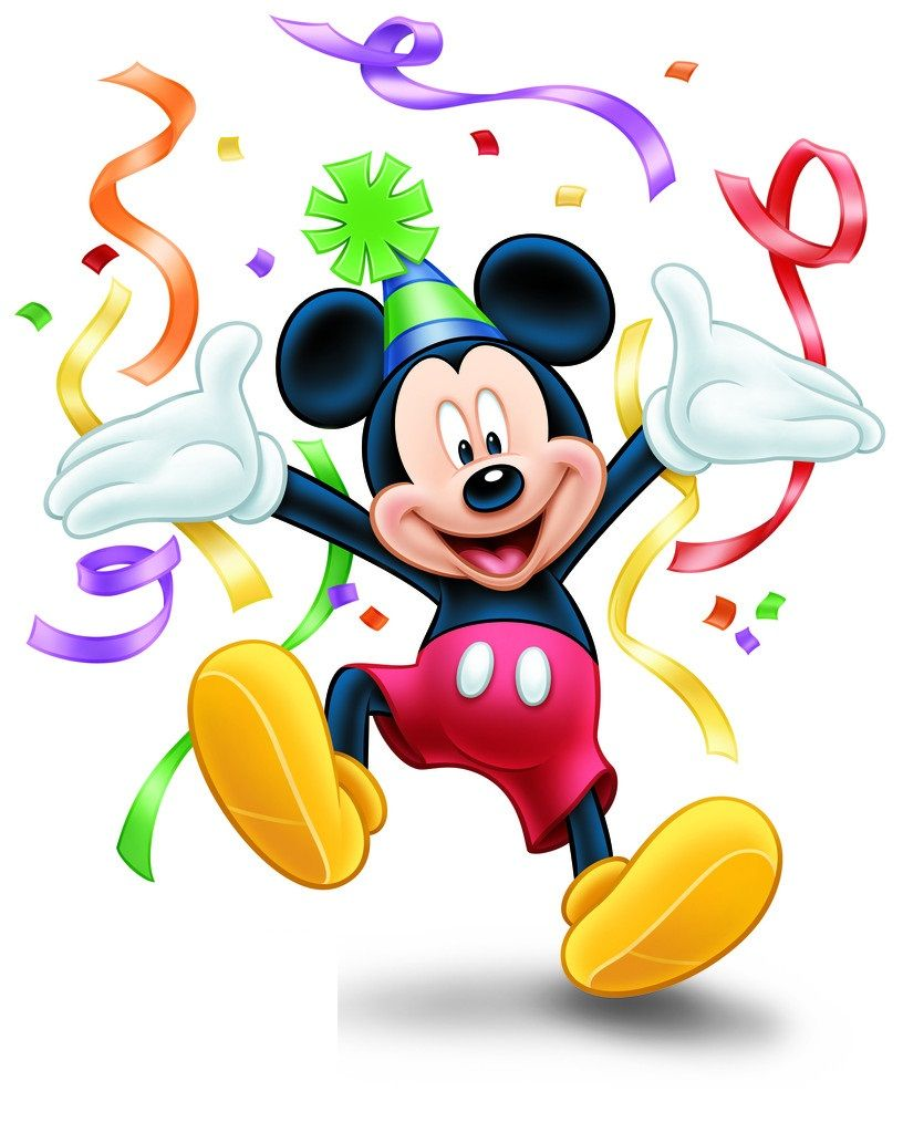 Mickey Mouse Birthday Clipart At Getdrawings Free Download