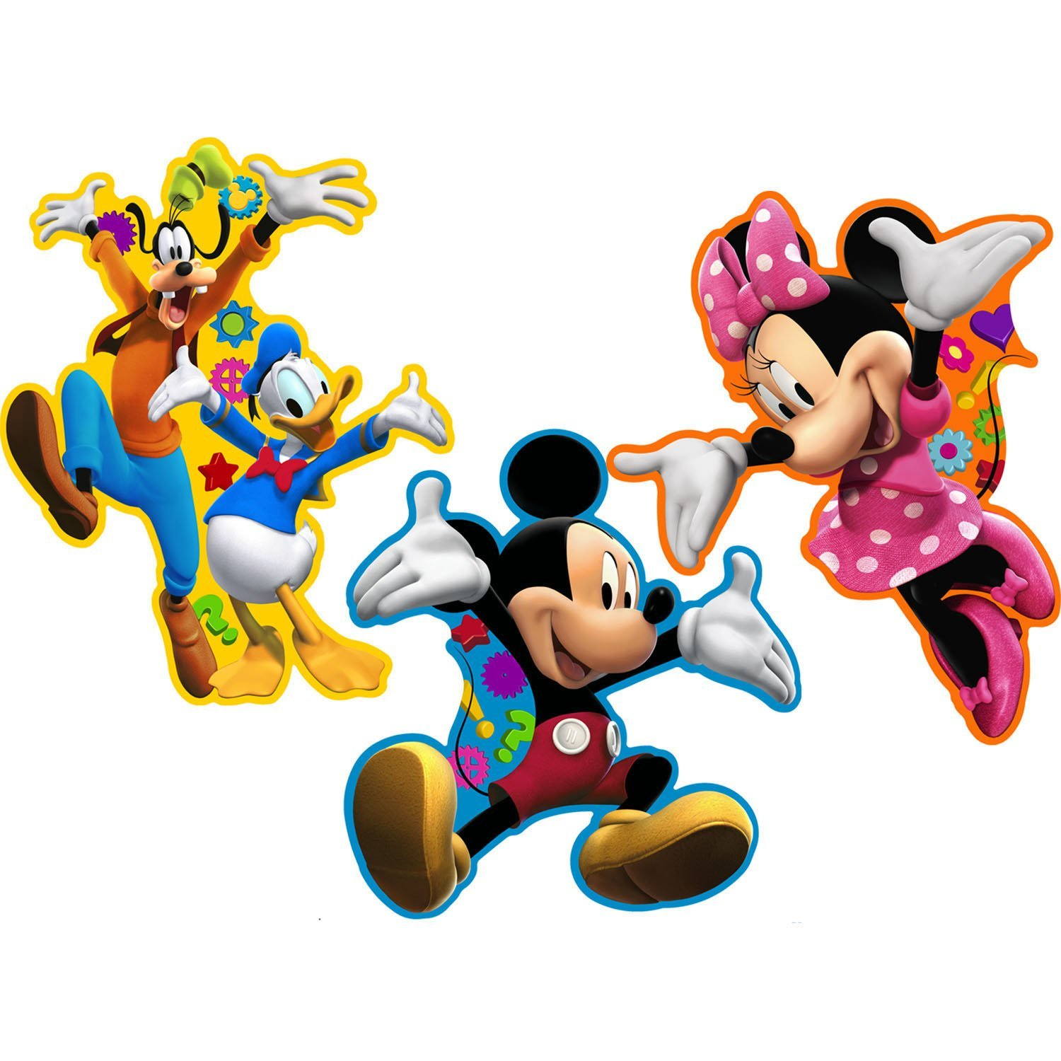 1500x1500 Cartoon Clipart Mickey Mouse Clubhouse Clipart Gallery ~ Free