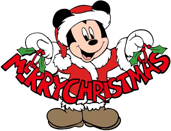 584x447 Mickey Mouse Christmas Clip Art 2 Disney Clip Art Galore