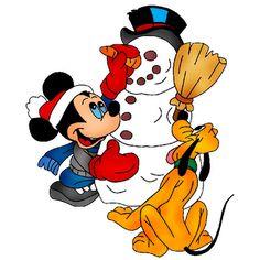 236x236 Mickey Mouse Xmas