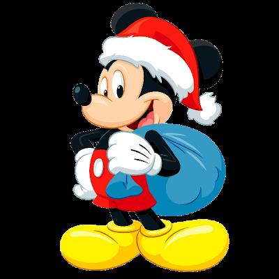 400x400 Mickey Mouse Xmas