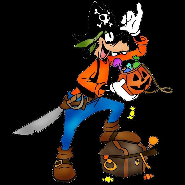 600x600 Disney Halloween Clip Art