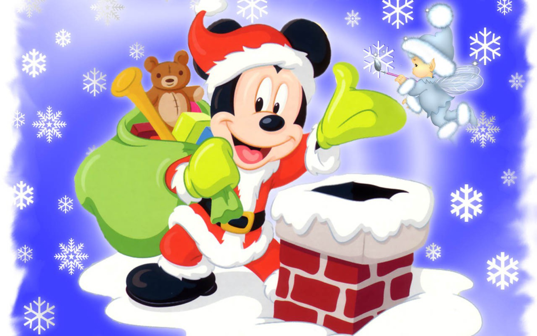 Mickey Mouse Christmas Clipart At Getdrawings Com Free For