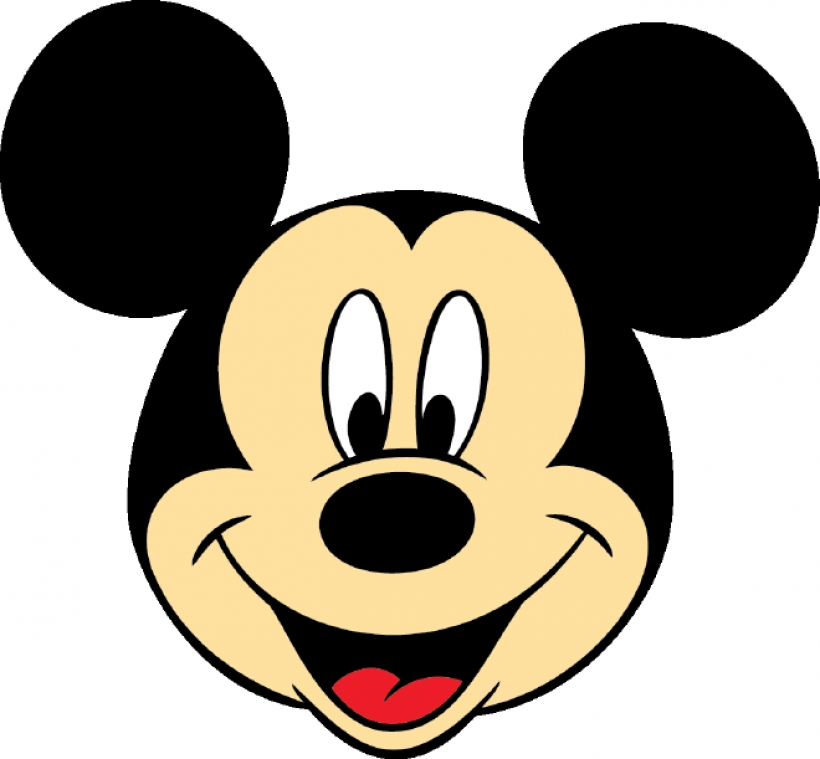 820x759 Collection Of Mickey Mouse Head Clipart Free High Quality
