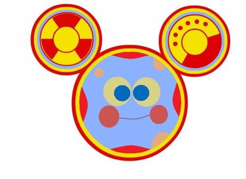 500x364 Collection Of Mickey Mouse Toodles Clipart High Quality