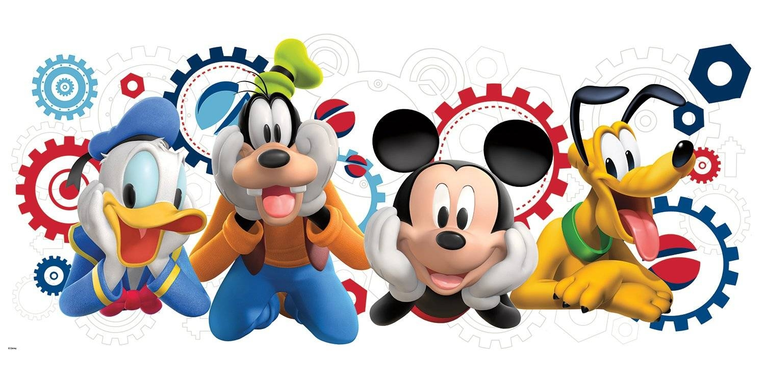 1500x750 The Best Mickey Mouse Clubhouse Wall Art