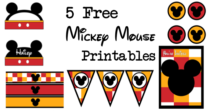 700x375 Free Mickey Mouse Birthday Printables