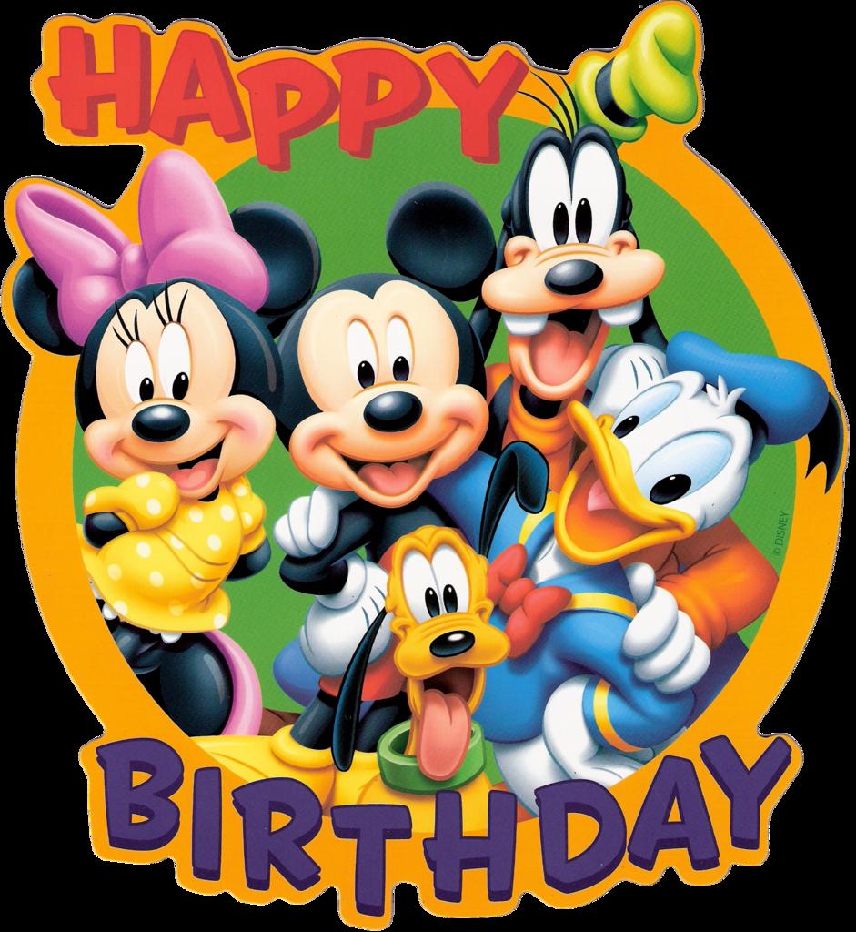 941x1024 Best Disney Birthday Clipart