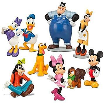 355x355 Disney Mickey Mouse Clubhouse Figurine Deluxe Figure Set Amazon