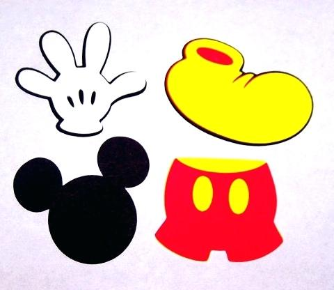 480x416 Mickey Mouse Face Template 0 Mickey Mouse Clubhouse Wallpaper