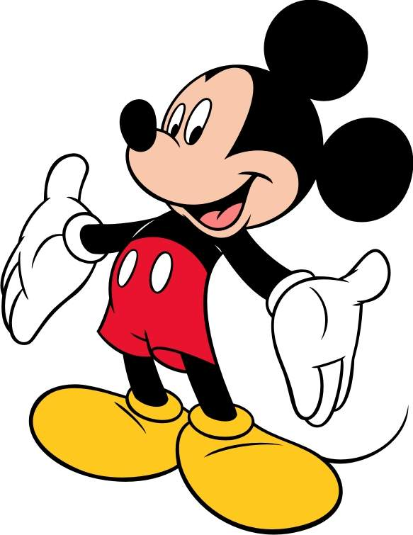 583x755 Anime Clipart Mickey Mouse