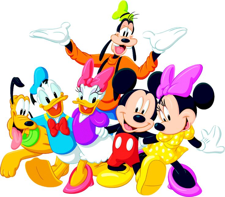 736x645 Disney Clipart Mickey Mouse And Friend Free Collection Download