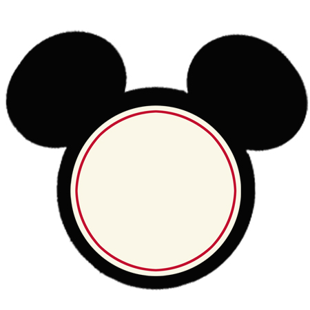 450x450 Mickey Mouse Face Template Free Download Clip Art Free Clip