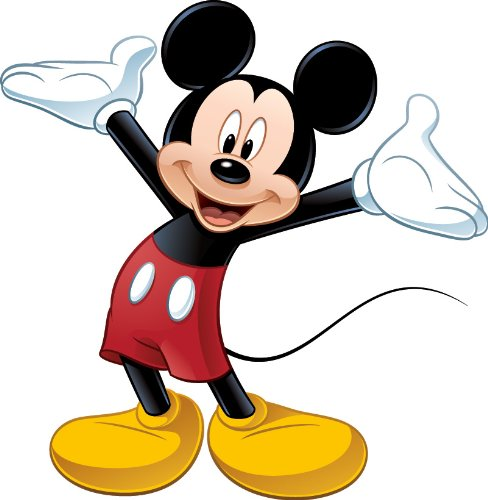 488x500 Micky Mouse Clipart