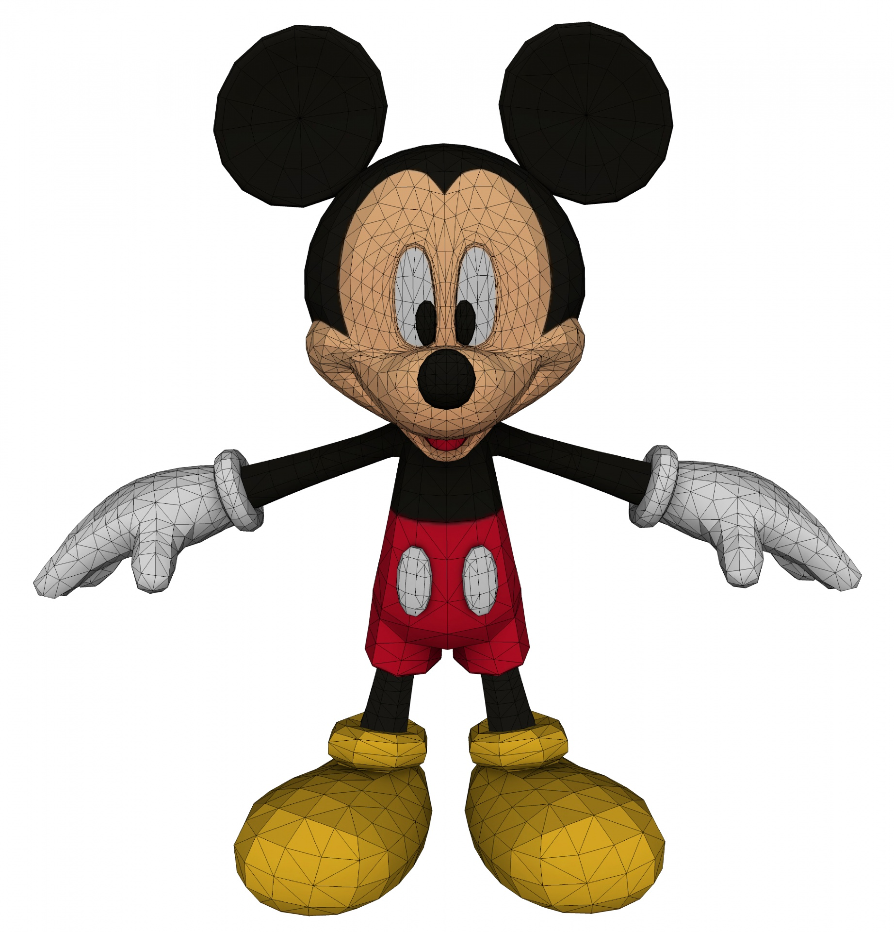 1843x1920 Pics Of Mickey Mouse Face