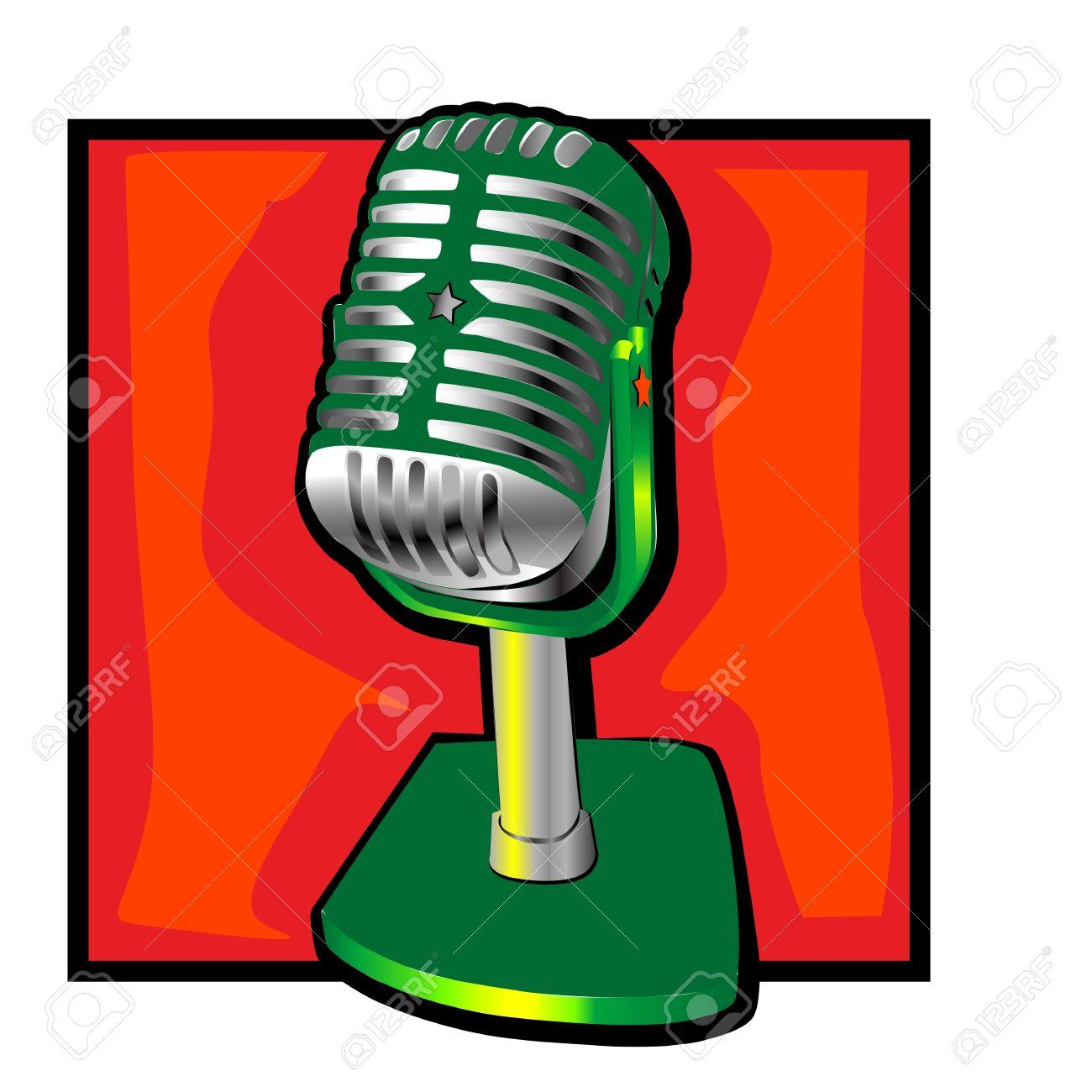 1300x1300 Clip Art Microphone Clip Art