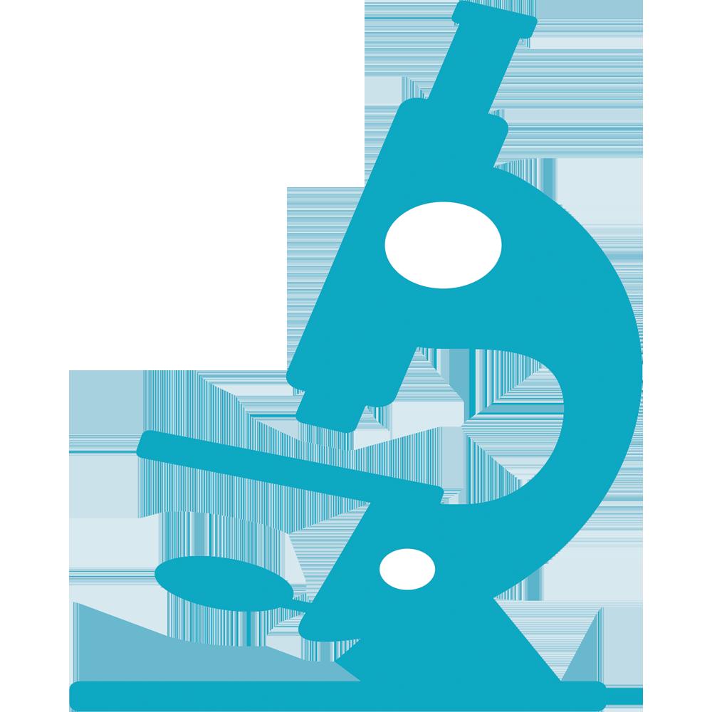 1000x1000 Microscope Pathology Blue Clip Art