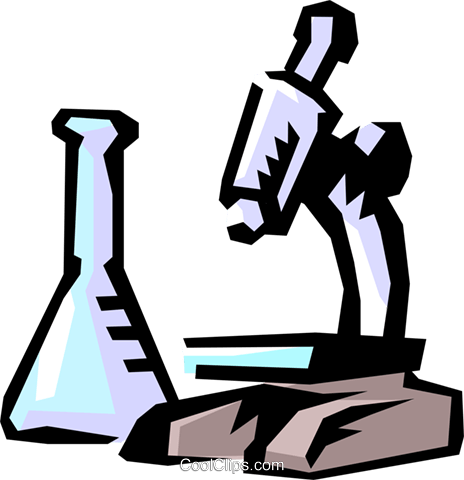 464x480 Microscope Royalty Free Vector Clip Art Illustration Medi0230