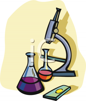 300x350 Royalty Free Microscope Clip Art, Science Clipart