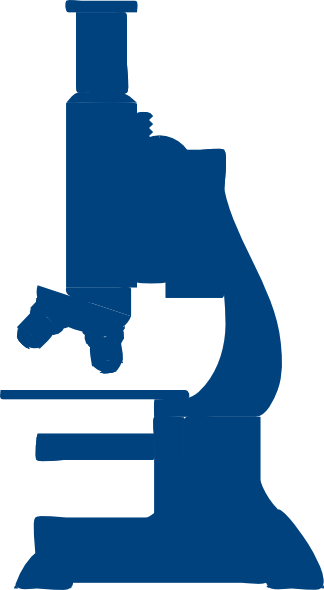 324x590 Blue Microscope Clip Art