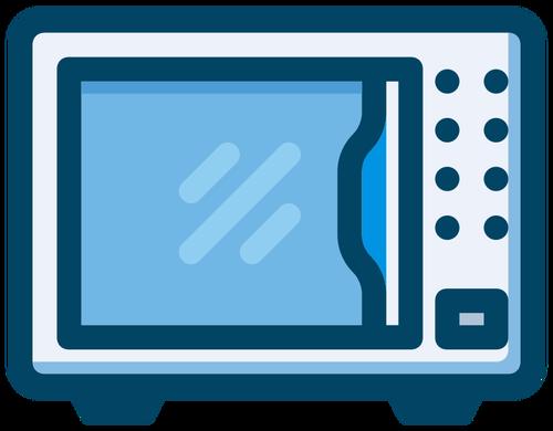 500x390 Microwave Symbol Public Domain Vectors