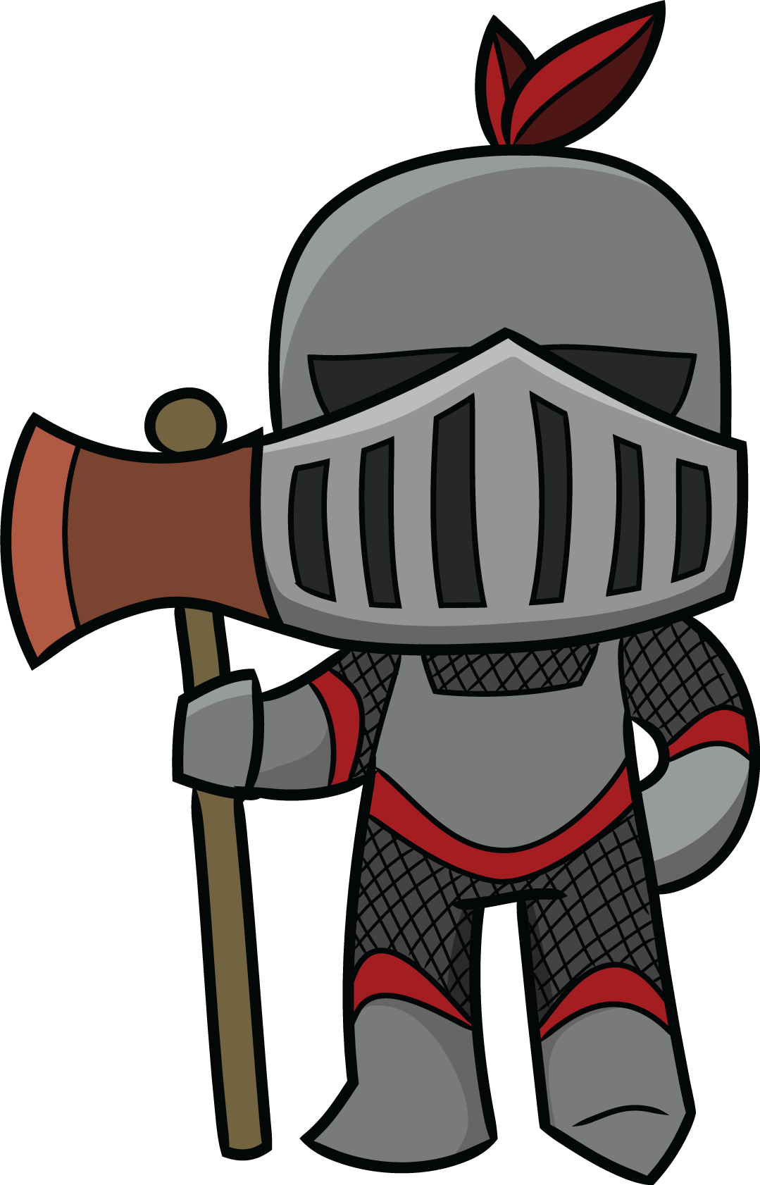 1079x1682 Middle Ages Knight Cartoon Clip Art