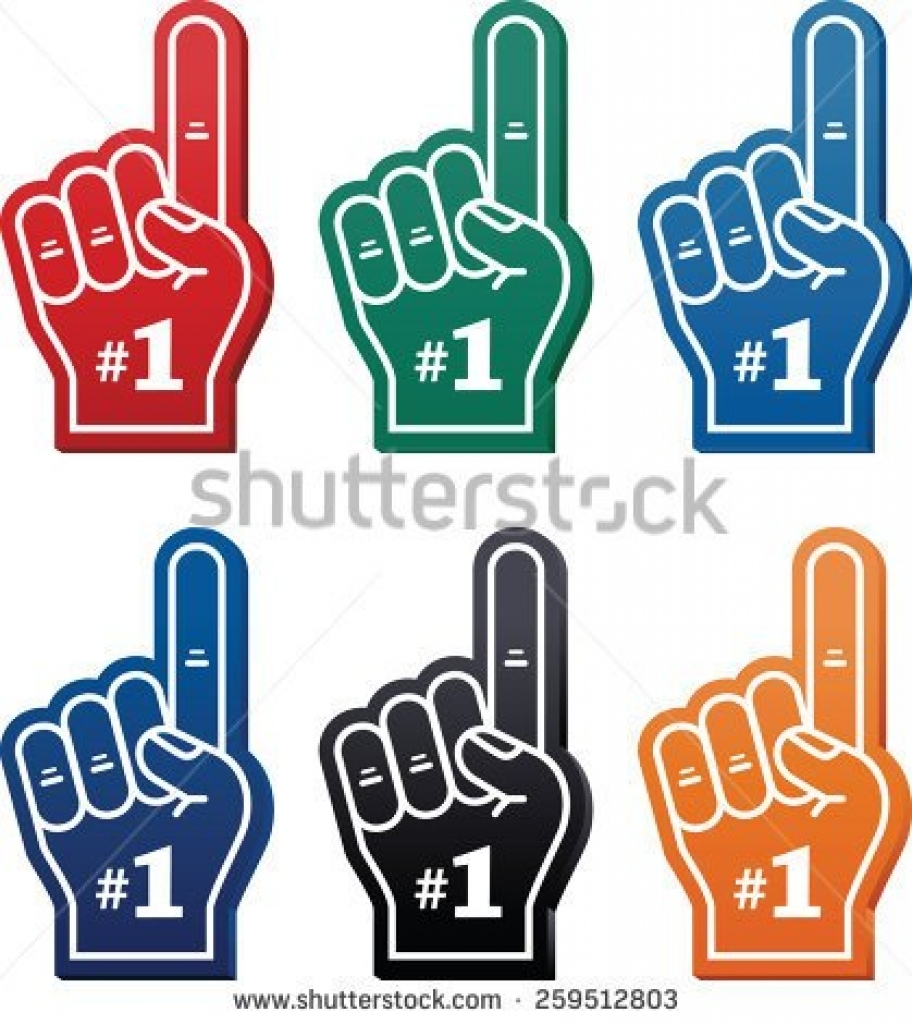 912x1024 Collection Of Foam Finger Clipart High Quality, Free