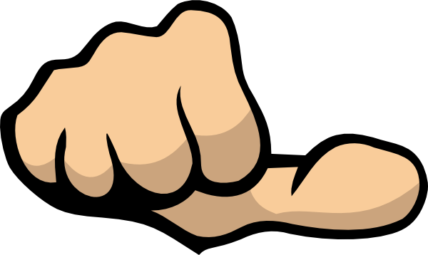 600x358 Image Of Middle Finger Clipart