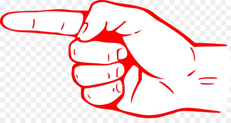 900x480 Index Finger Hand Clip Art