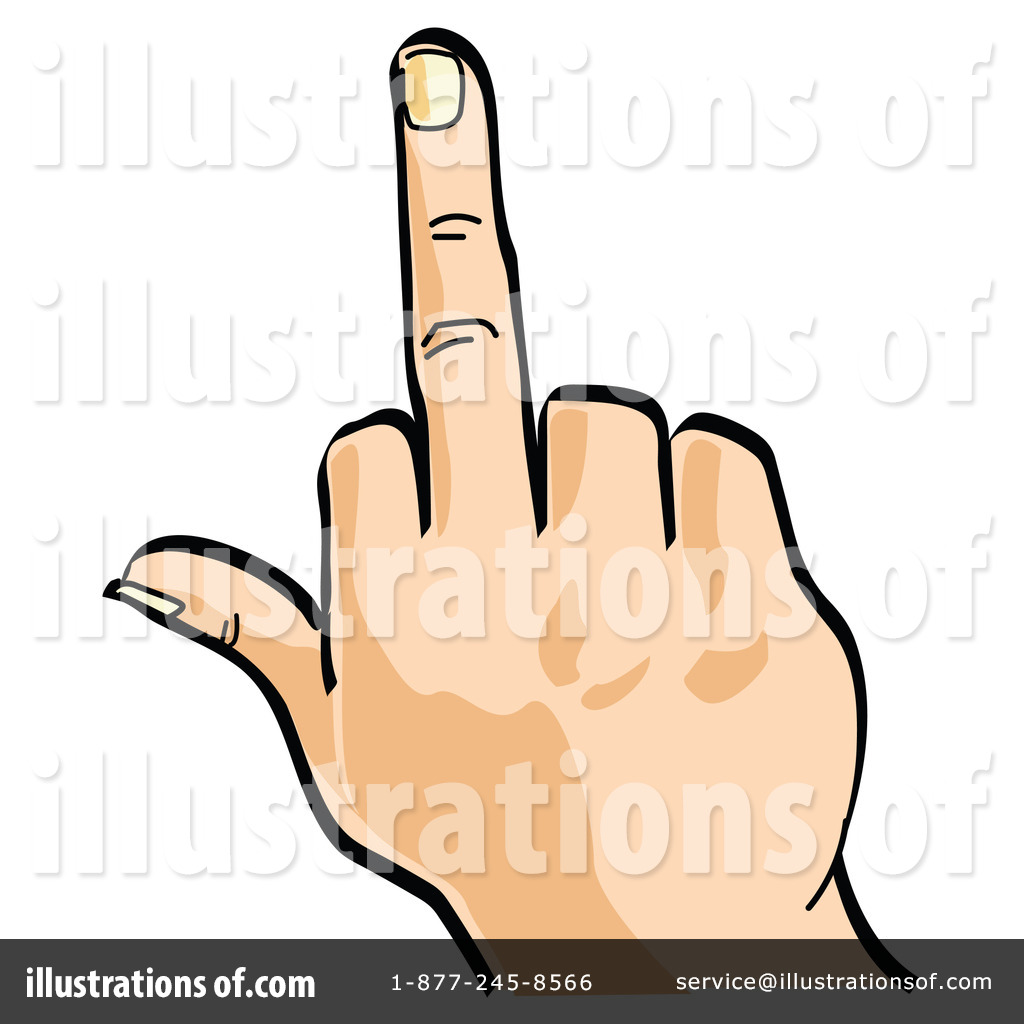 1024x1024 Middle Finger Clipart