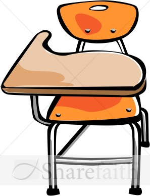 297x388 Clipart School Desk