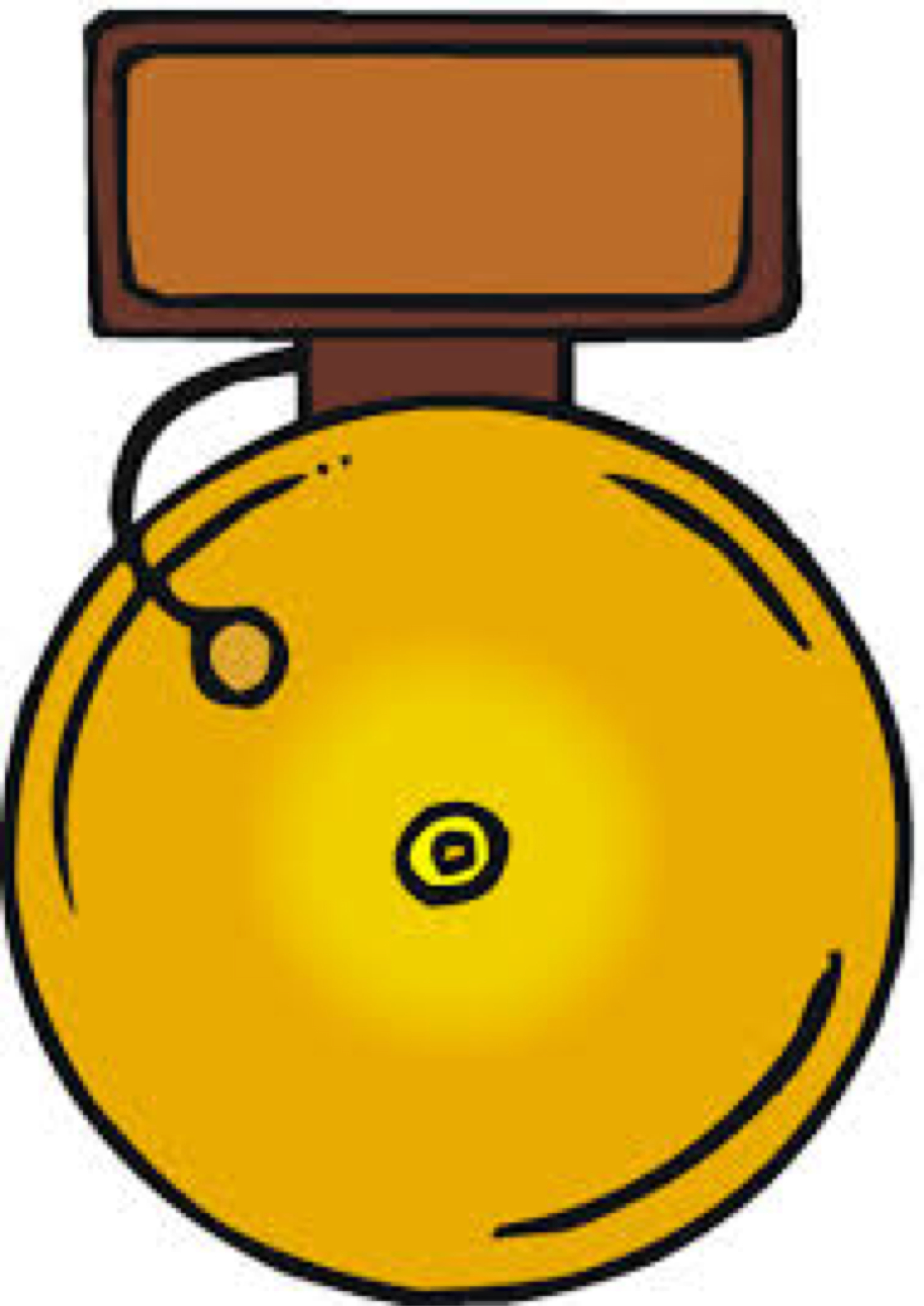 1124x1588 Bell In School Clipart