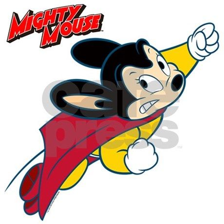 460x460 Mighty Mouse Logo11 Wall Decal By Jwphotoarts For Rich