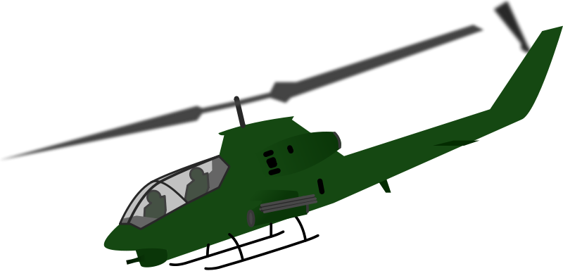 800x385 Military Helicopter Airplane Clip Art
