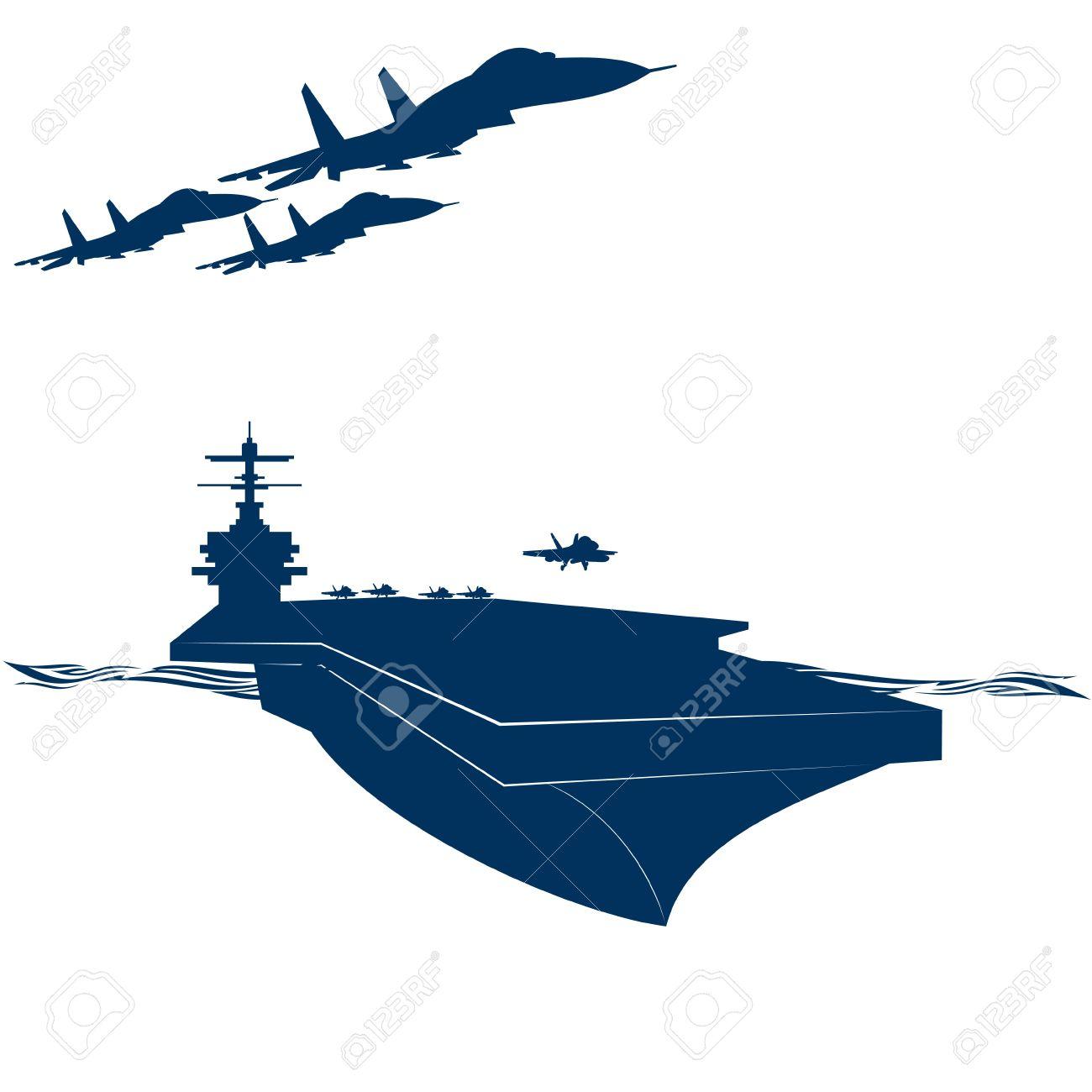 1300x1300 Aircraft Carrier Clipart Clipartlook