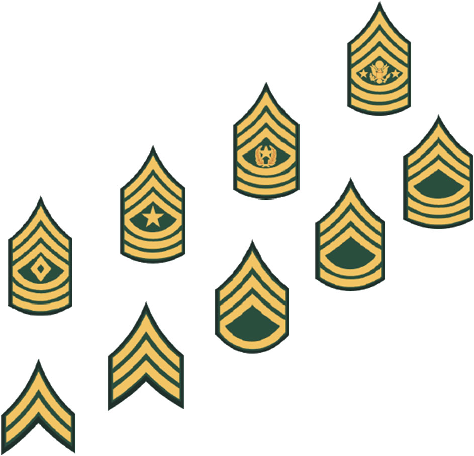 943x909 Military Rank Clipart