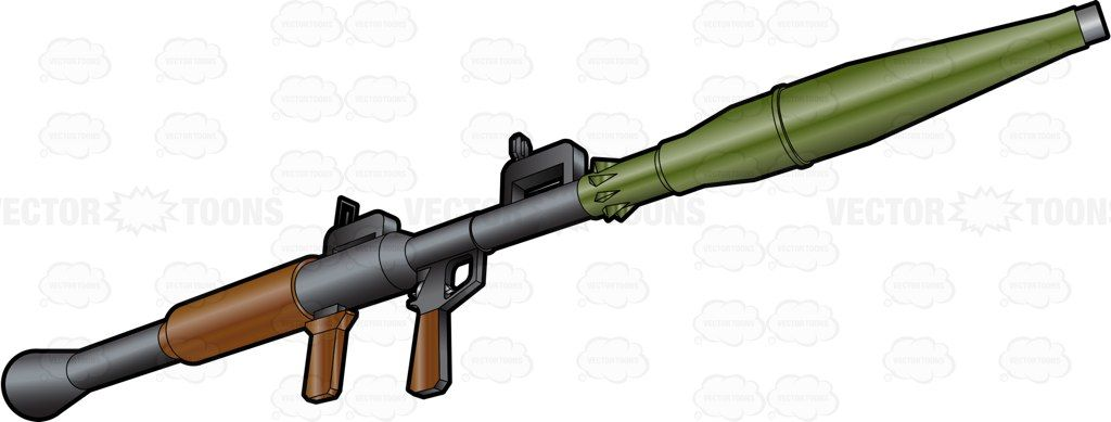 1024x389 Bottom Side View Of An Rpg 7 Rocket Grenade Launcher Rpg