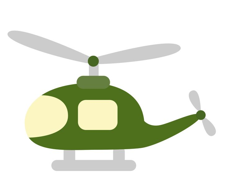 Military Helicopter Clipart