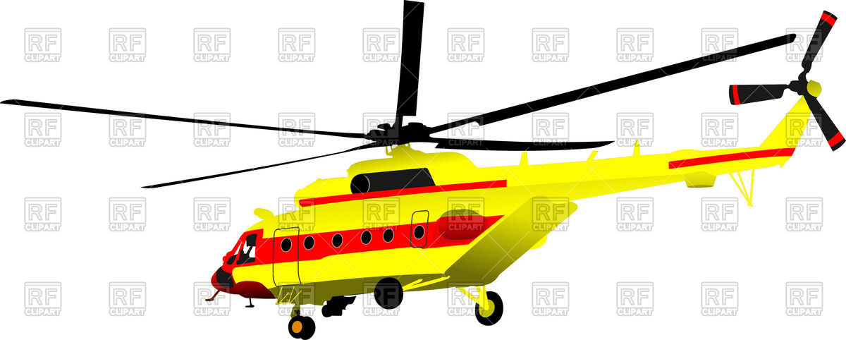 1200x482 Yellow Combat Helicopter