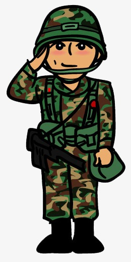 260x518 Soldiers Salute, Military Training, Camouflage, Soldier Png Image