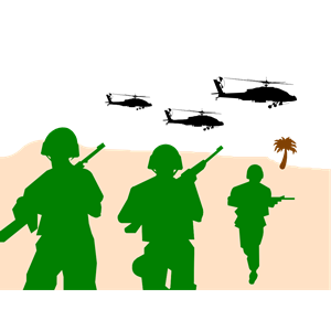 300x300 Free Military Angel Clip Art Army Soldiers Clipart, Cliparts