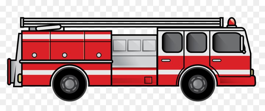 900x380 Fire Engine Red Truck Clip Art
