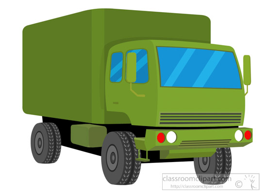 550x400 Military Clipart Green Military Truck Vehicles Clipart