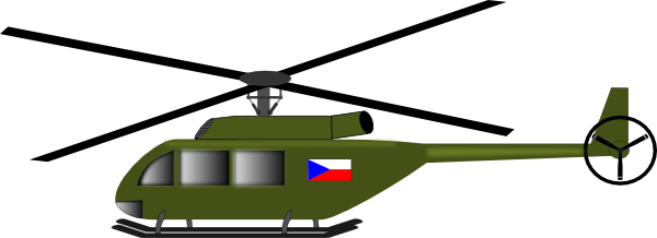 600x218 Army Clipart Army Helicopter