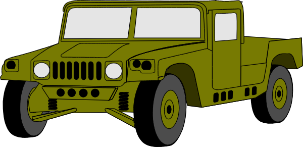 600x291 Hummer Clipart Army